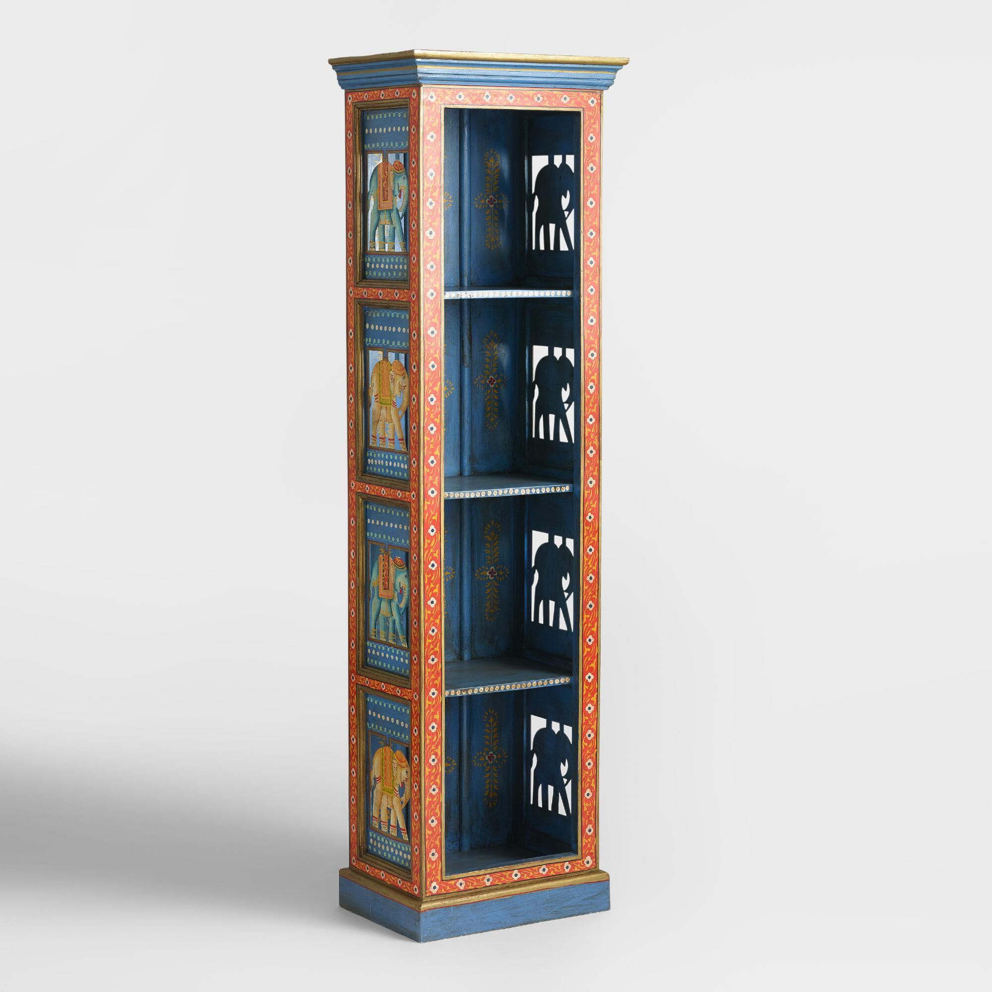 Painted Elephant Wood Cabinet World Market. Full resolution  pic, nominally Width 2000 Height 2000 pixels, pic with #A64D25.