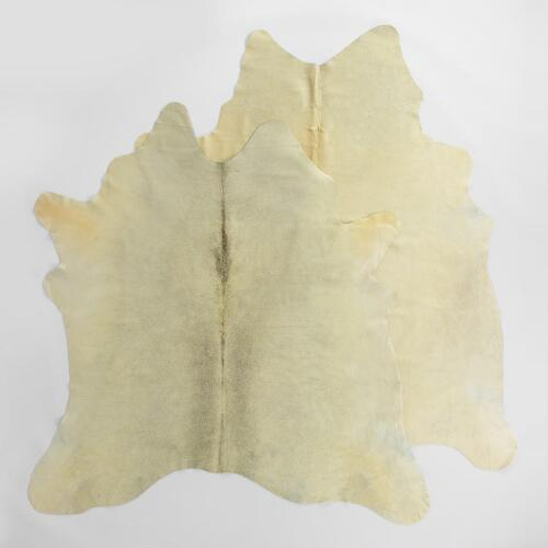 Light Natural Cowhide Rug