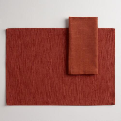 Spice Khadi Table Linens Collection