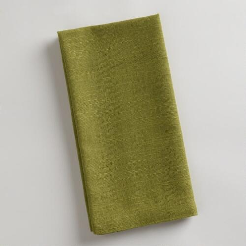 Fern Khadi Napkins, Set of 4