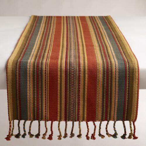Canyon Stripe Table Runner
