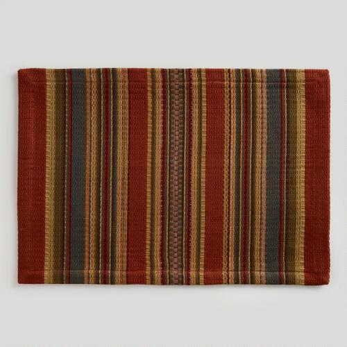 Canyon Stripe Placemats, Set of 4