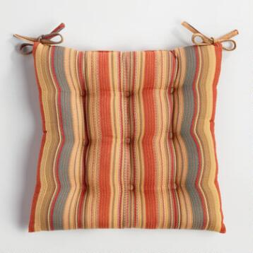 Canyon Stripe Chair Cushion