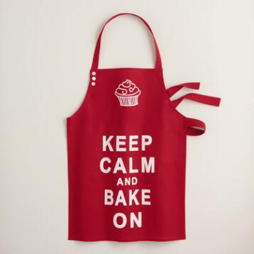 Keep Calm & Bake On Apron