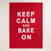 Keep Calm & Bake On Kitchen Towels, Set of 2