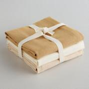 Neutral Flour Sack Kitchen Towels, Set of 3
