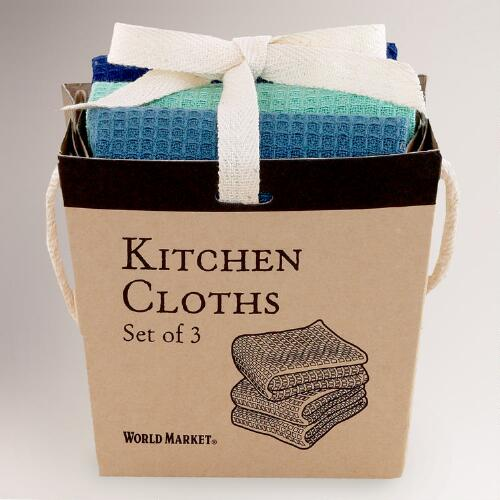 Cool Take Out Dishcloths Box