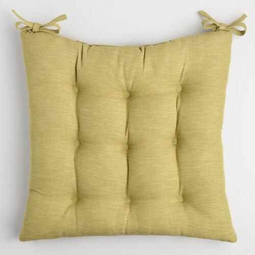 Fern Khadi Chair Cushion