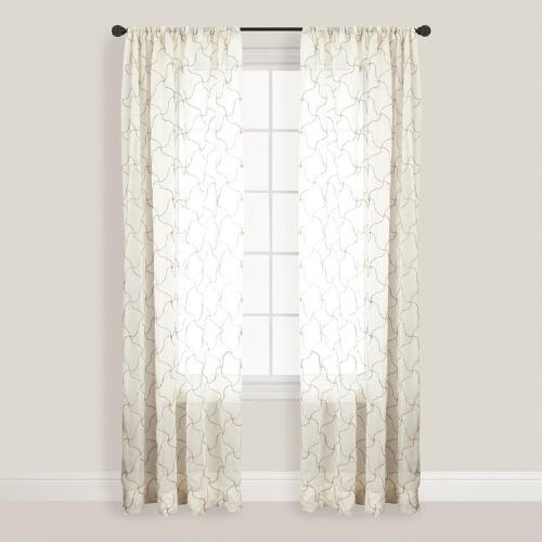 Cream Osiris Curtain