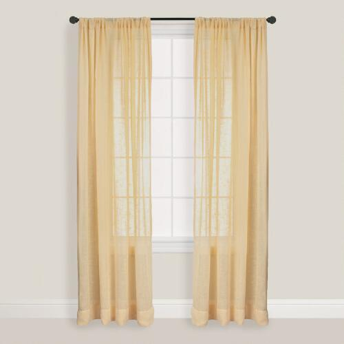 Butter Bloomfield Curtain