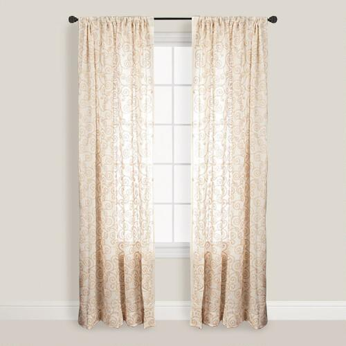 Natural Serene Curtain