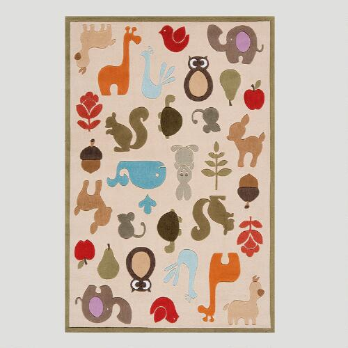 Animal Friends Rug