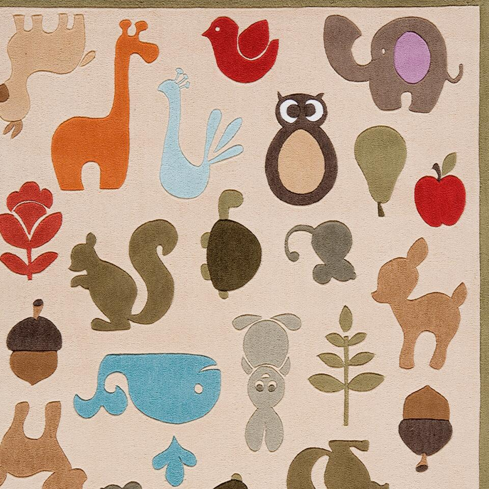 animal friends rug on popscreen