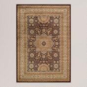 Brown Medallion Rug