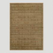 Ivory Striped Rug