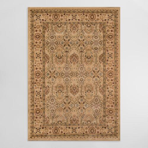 Ivory Feather Area Rug