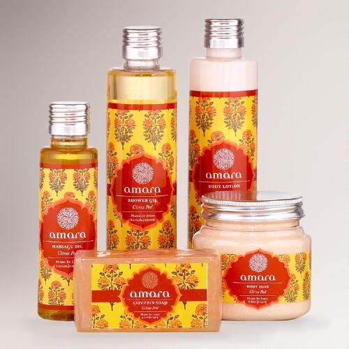 Citrus Peel Amara Body Care Collection