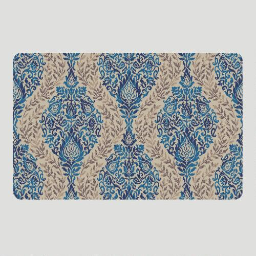 Ikat Cushioned Floor Mat