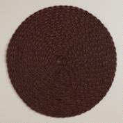 Java Round Braided Placemats, Set of 4