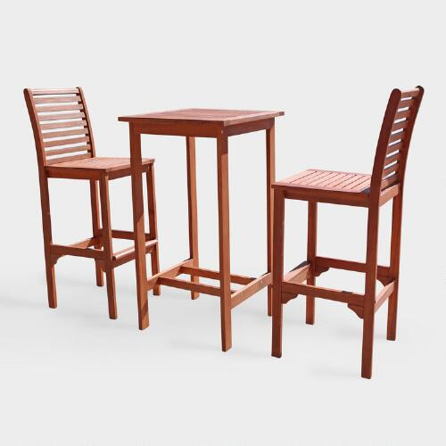 Stinson 3-Piece Bar Set