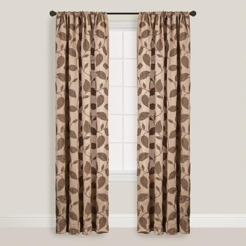 Taupe Accacia Curtains