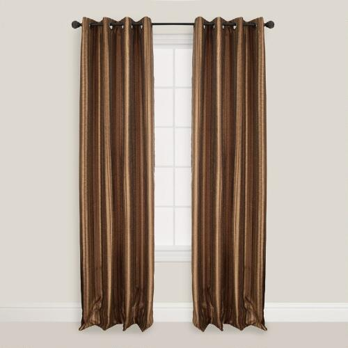Sienna Batik Bombay Curtains