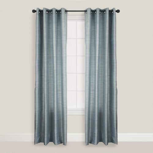 Blue Brown Soma Curtain