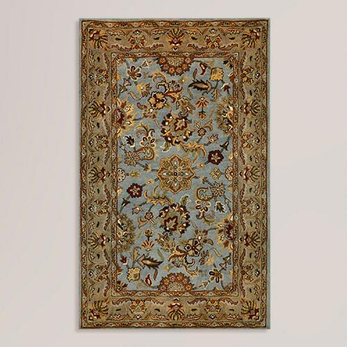Blue Agra Wool Rug