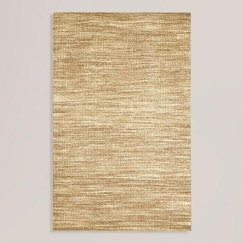 Neutral Crete Wool Rug