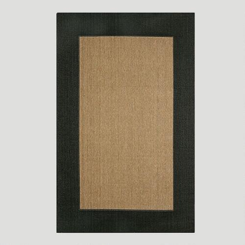 Black Border Indoor-Outdoor Rug
