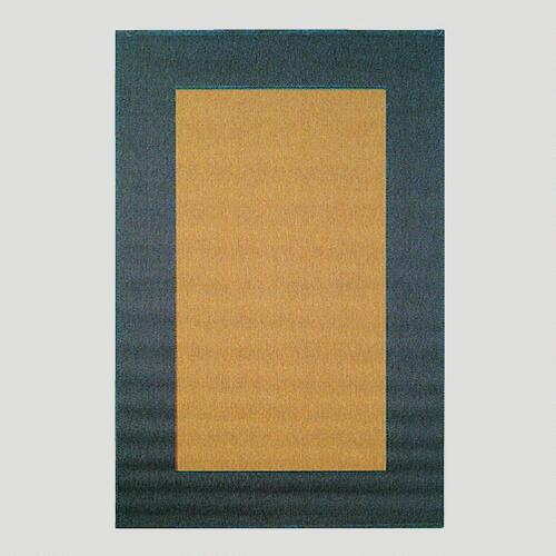 Blue Border Indoor-Outdoor Rug