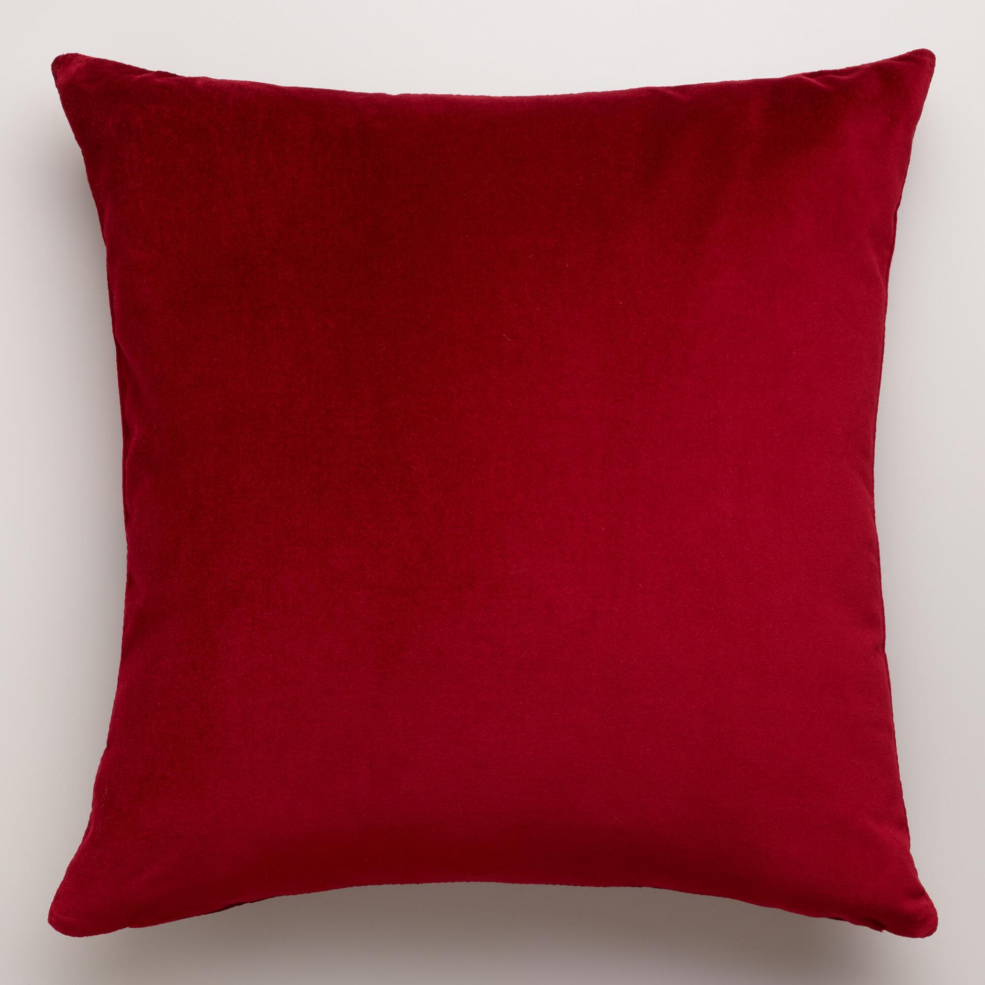 Red Leather Sofa With Throw Pillows : Best Plan Blog Archive Red Or Wine Colour Sofas In Velvet