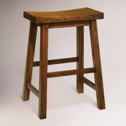 Honey Schoolhouse Counter Stool