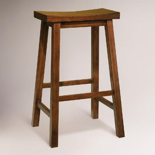 Honey Schoolhouse Barstool