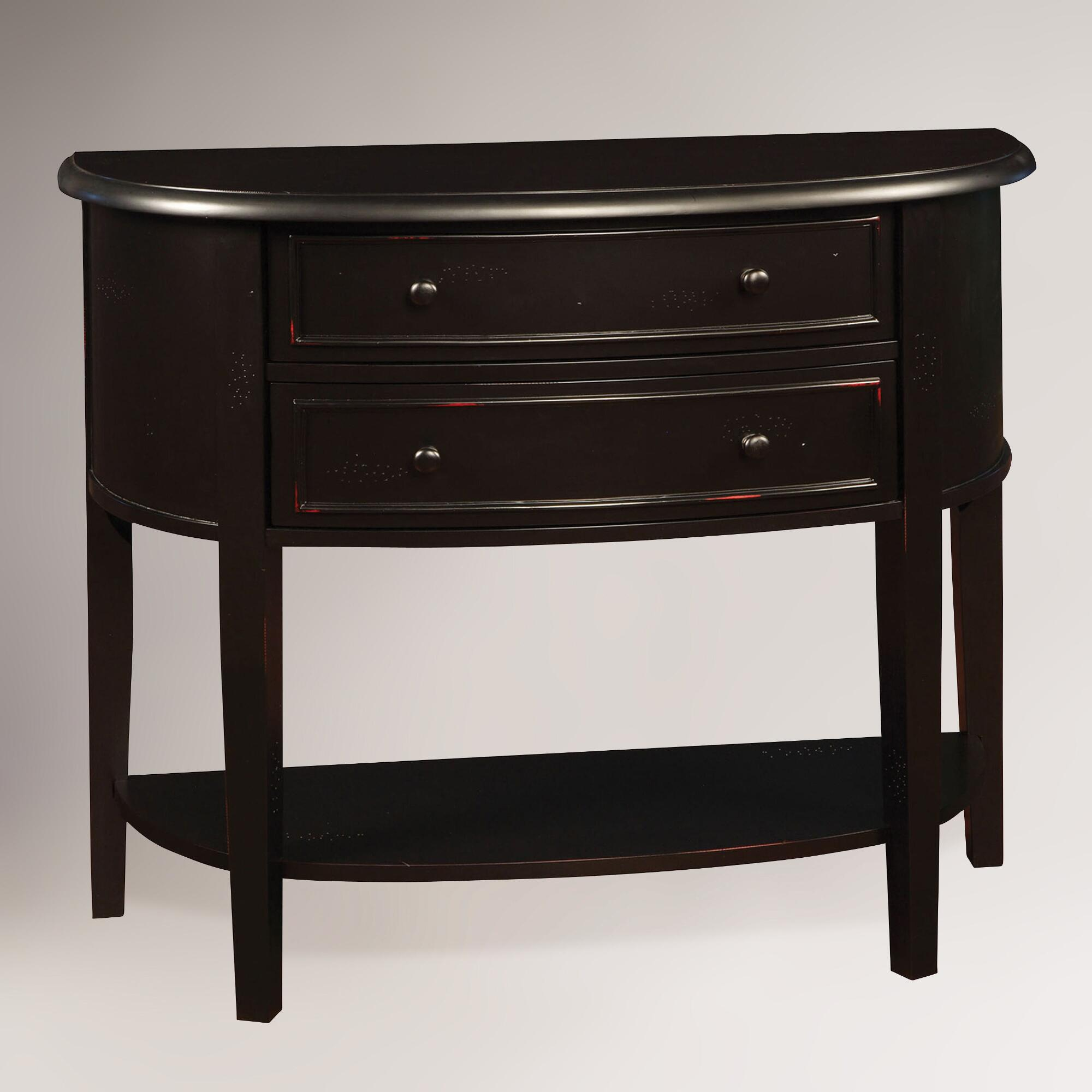 lindsay console table world market. Black Bedroom Furniture Sets. Home Design Ideas