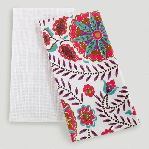 Casbah Kitchen Towels, Set of 2