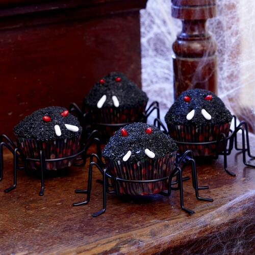 Spider Cupcake Stand, Set of 4