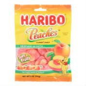 Haribo Peach Gummies, Set of 12