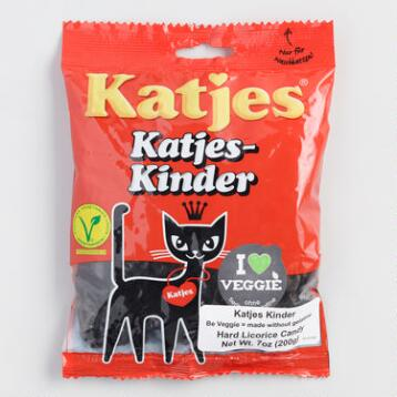 Katjes Licorice Cats, Set of 10