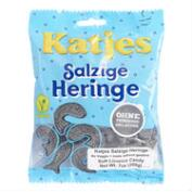 Katjes Soft Salty Fish Licorice, Set of 10