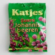 Katjes Sour Red Currant Licorice, Set of 10