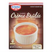 Dr. Oetker Creme Brulee, Set of 4