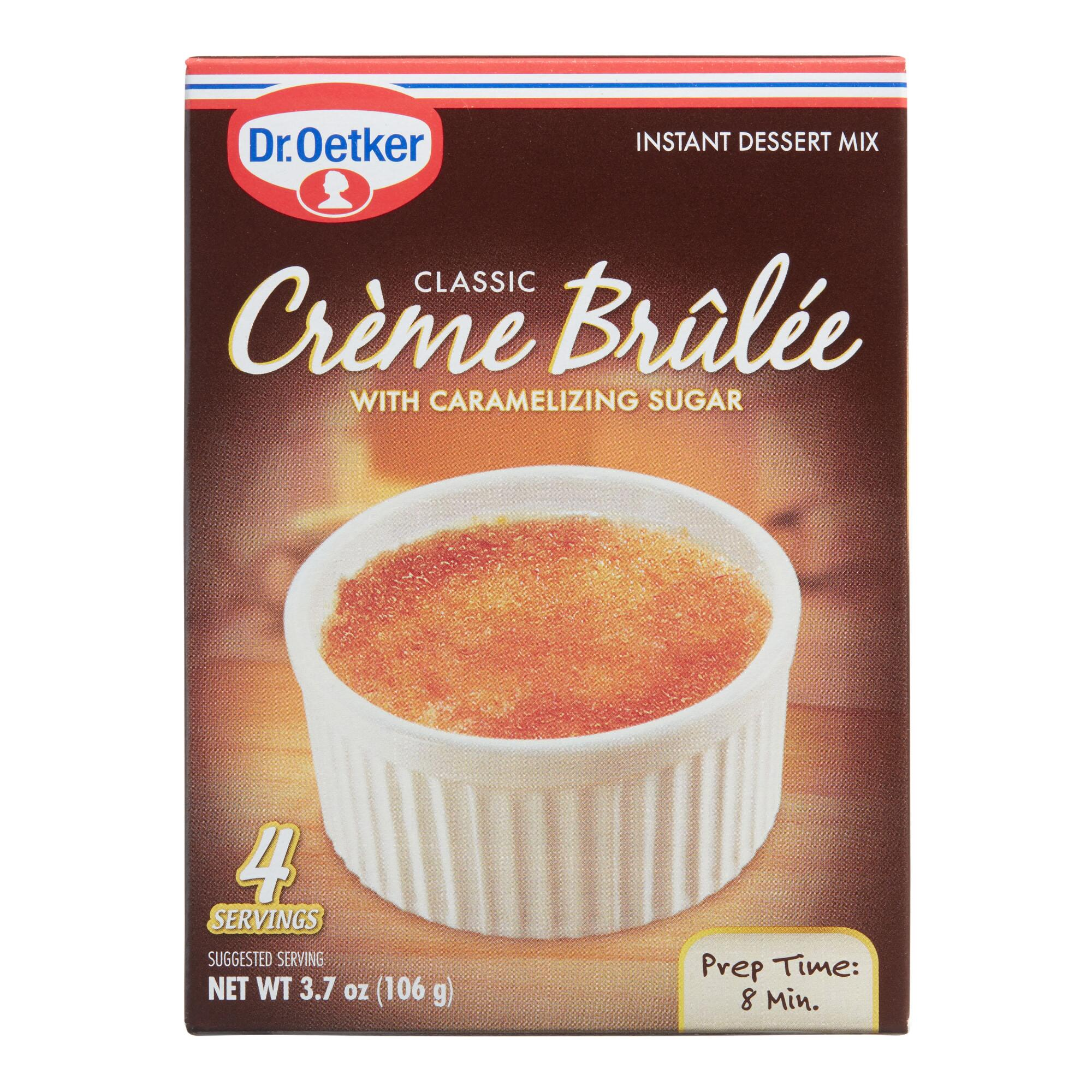dr oetker creme brulee set of 4 world market. Black Bedroom Furniture Sets. Home Design Ideas