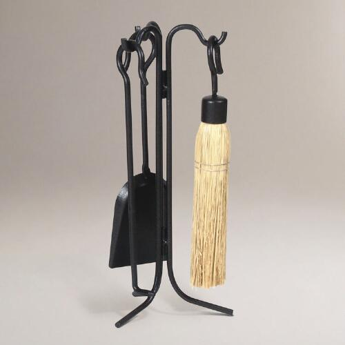 Mini 4-pc. Fireplace Tool Set