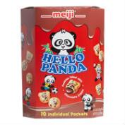 Meiji Hello Panda Chocolate Cookies, 10-Pack