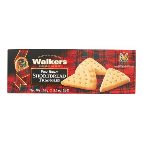 Walkers Shortbread Triangles, Set of 12