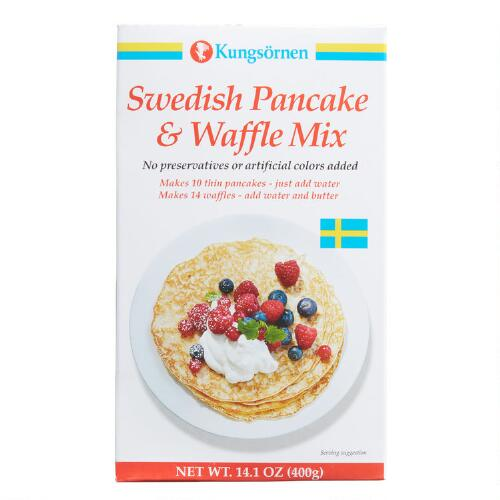 Kungsornen Swedish Pancake & Waffle Mix Set of 2