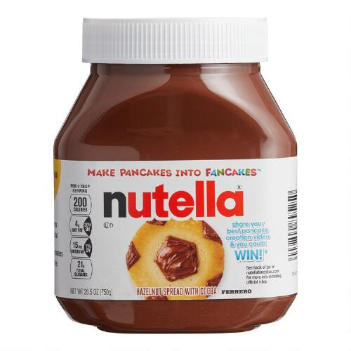 Large Nutella Hazelnut Spread