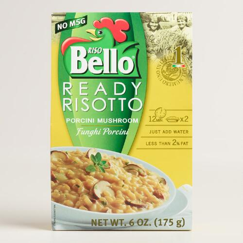 Riso Bello Ready Risotto, Porcini Mushroom, Set of 6
