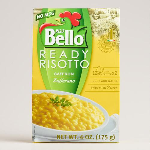 Riso Bello Ready Risotto, Saffron, Set of 6